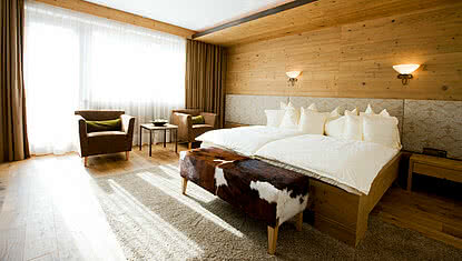 Junior suite in Minglers Sportalm near the Kitzbühel Alps